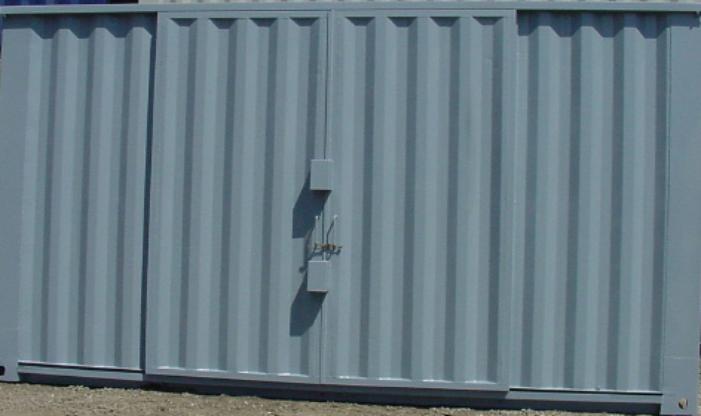 20 Ft Sliding Door And Lockbox Glass Box